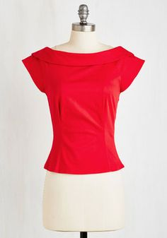 1950s Fashion - Let's Get Groovin' Top