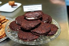 -Chocolate Cookies with Coconut Filling (Gluten Free, Dairy Free ...