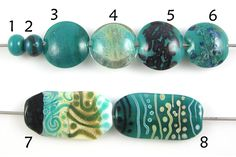 CiM: Messy Color™ Rainforest, A greenish teal opal. - Creation Is Messy