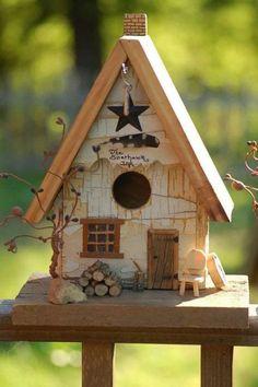 rustic birdhouse | BIRD HOUSES