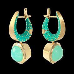 Earrings KALEIDOSCOPE - buy in Mousson Atelier