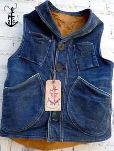 Mister Freedom Denim Signal Vest
