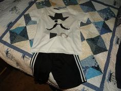 Max's new pirate shirt and pants for Seafair...Arrrgh!