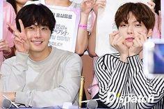 Jung Il woo & Ahn jae hyun ♥♥ 'Cinderella and Four Knights' Presscon