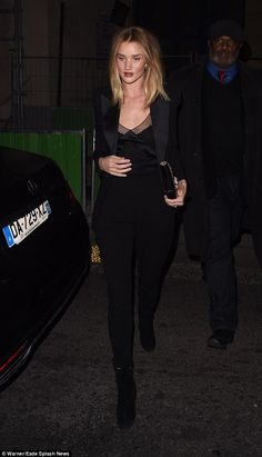 Do they have more fun? Rosie Huntington-Whiteley proved her earlier turn as a brunette for...