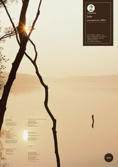 """""""Visual music"""" Posters by Alessandro Scarpellini, via Behance"""