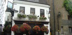 The Mayflower Pub - Pub in Rotherhithe, Pub by London Bridge, Original mayflower pub, Pub SE16 4NF, Gastropub Bermondsey