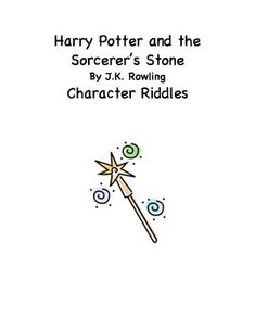 Are you looking for a fun, interactive activity to go along with the first book of Harry Potter? You should try this one! There are 15 riddles that students must read to determine who the riddle describes. They'll then cut and paste the correct character with the name and sketch the character. This activity can supplement a read-aloud or guided reading group and could also be used with my Harry Potter Novel Study! Thank you so much! I hope you and your students enjoy this!