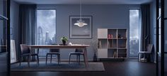 EVENING IN SYDNEY. Furniture presentation for Dellis Furniture. Done in 3ds Max, Corona Renderer, Adobe Photoshop.