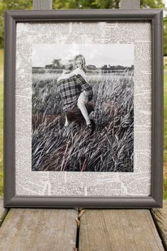You can use old book pages (or other scrap paper) to make your own custom photo mats!