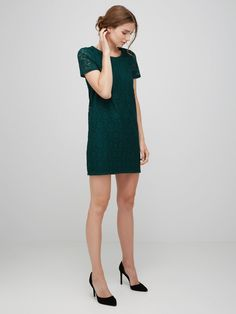 Lace Dress by Vero moda We just love that colour <3 www.munt-webshop.be