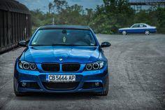 #BMW #E90 #335i #Sedan #Blue #Badass #Provocative #Sexy #Hot #Live #Life #Love #Follow #Your #heart #BMWLife