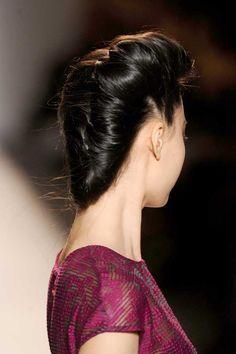 Lela Rose: Sculpted Twists - Back  #summerhair