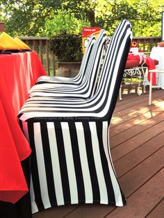 Chair Covers Kansas City Spool Ethan Allen 136 Best Luxurious Table Linens Images Wedding Hometown Pride Chiefs Vs Denver Broncos Football Tablescape Tablescapes At 21 Black And White Striped Stretch Are Fun