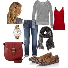 adorable casual outfit #FossilVintageRevival