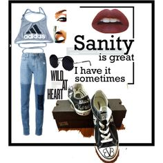 Foo Fighters by musa-innovator on Polyvore featuring polyvore fashion style adidas Paige Denim Una-Home