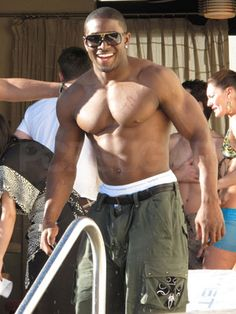 Reggie Bush...there are no words to express what I feel just looking at this man...OMG! ;)