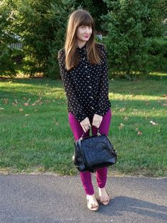 House Of Jeffers styles with Sole Society Camille bag!