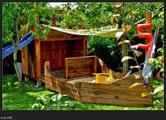 Piraten im Garten