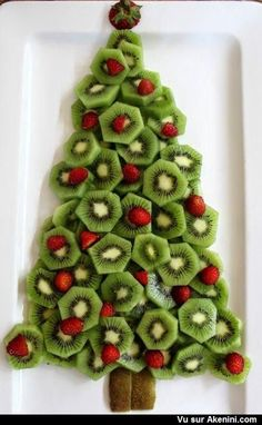 Recettes marrantes Noël - Funny Art Food Christmas