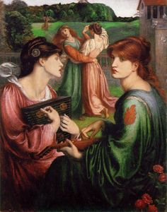 D.G Rossetti, The Bower Meadow 1872