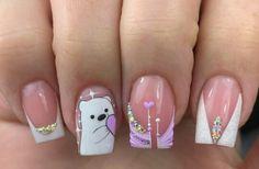 Press On Nails, Manicure, Nail Designs, Nail Art, Beauty, Sour Cream, Finger Nails, Classy Gel Nails, Toe Nail Art