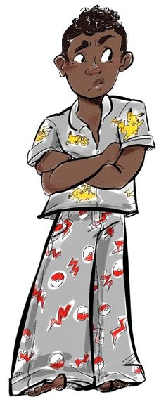 649dd14e05 A Carter in Pokemon pajamas because that is canon... - hatnhousejacket