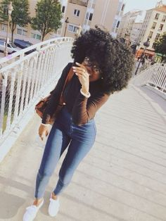 #Ghanaiangirl Maria Sackey #naturalhair