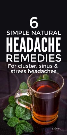 Simple natural headache remedies and relief for cluster, stress, tension and sinus headaches and migraines plus menstrual headaches from periods and menopause #headache #headacherelief #headacheremedies #naturalmigrainerelief #natruralmigraineremedies