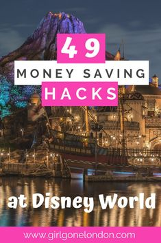 Check out these amazing ways to save money on a Disney vacation, including how to save money on Disney dining, how to save money on Disney tickets, and how to save money on Disney hotel rooms! Disney World Tickets, Disney World Hotels, Disney World Parks, Disney Vacations, Disney Trips, Disney Travel, Vacation Savings, Vacation Travel, Family Travel