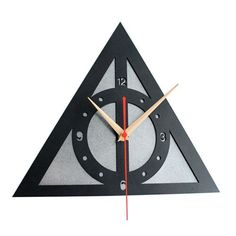 Wall Clock Retro Home Decor Watch Modern Art Time Harry Potter The Deathly 12""