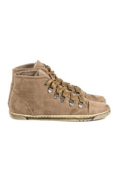 Faux Suede High Top Trainers: Just For 5Pounds