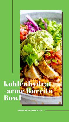 Wenn ihr die mexikanische Küche mögt, aber im Moment eine Diät macht oder nicht ständig zu viele Kalorien essen wollt, haben wir hier für euch ein Rezept, welches trotz deutlich weniger Kohlenhydraten immer noch fast genauso gut schmeckt, als wäre es vom Mexikaner. Workout Diet Plan, Diets For Women, Weight Loss For Women, Fitness Diet, Moment, Ethnic Recipes, Food, Mexican Kitchens, Mexican Recipes