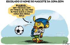 Mascote da Copa é Fuleco