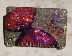 CRYSTAL BUTTERFLIES Swarovski BLING Macbook Pro by IcyCouture, $1220.00