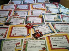 Last year I created candy awards for my class and gave them out in our room just us! If you want to see the red carpet fun we had on the last day check it out HERE The love was FLOWING and they were SO excited with their awards! Don't want to spend your Summer …
