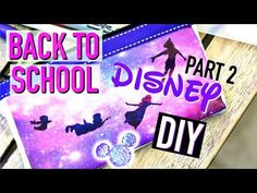 DIY Back To School Facile : Fournitures Scolaires LICORNE (français) - YouTube