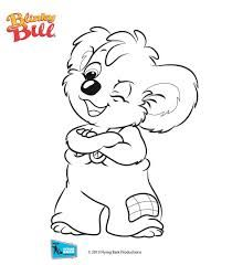 To make a Blinky Bill themed Colouring In Book!
