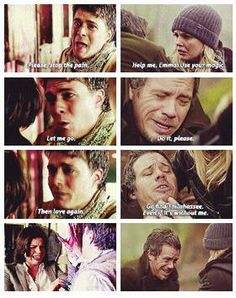 Make room for captain swan. Never liked Neal too much but this scene had me in tears.