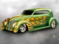 Hot Rod Flames | hot rod flames...Brought to you by #HouseofinsuranceinEugeneOregon