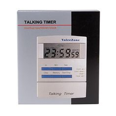 Talking Clock  Timer wAlarm -- Click image to review more details.