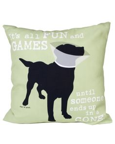 Fun and Games Pillow