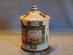 French Bistro Cookie Jar by SandECollectibles on Etsy, $14.95