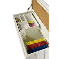 Comfort Products Cork Filing Trunk with Organizer Tray | Wayfair