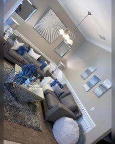 Living Room Decor Colors, Decor Home Living Room, Glam Living Room, Beautiful Living Rooms, Living Room Designs, Bedroom Decor, First Apartment Decorating, Apartment Living, 1st Apartment