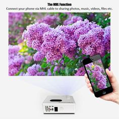 Main Features:With analog TV interface lumen with contrast ratio for clear ,sharp x HDMI input ports and 2 x USB ports: Presentatio Lcd Projector, Digital Tv, Home Entertainment, Home Theater, Minis, Movie Tv, Video Games, Entertaining, Led