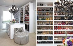 Wardrobes are the ultimate fashion accessory.  Each LA Closet Design project is customized to reflect the needs and style  of the individual client. Whether masculine, sophisticated and streamlined  or feminine and high fashion, the closet should be a high functioning,  natural extension of the home and an actual living space.