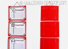 Back to School: l'orario di scuola da scaricare, stampare e appendere
