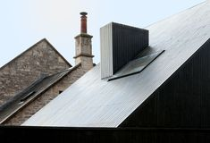 Providence Chapel, Colerne, Wiltshire — The Modern House Estate Agents: Architect-Designed Property For Sale in London and the UK Scandinavian Architecture, Contemporary Architecture, Chapel Conversion, Two Bedroom House, Old School House, Barn Renovation, Rural Retreats, Roof Detail, Property Design