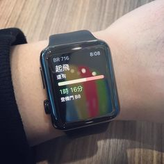 太早到機場 App in the air 是很好的提醒 App  #applewatch #appintheair #meeting by maxchomax